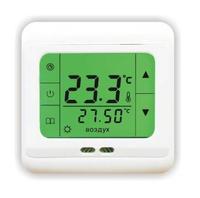 Терморегулятор сенсорный програм.с датчиком пола,датчик воздуха,поддерживаемая температура от +0°С до +40°С