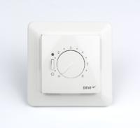 Терморегулятор встраиваемый с датчиком пола 3м с регулятором (t=+5+45 С) белый/ELKO IP31 Д-530