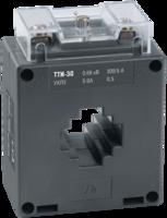 Трансформатор тока 300/5А 5ВА кл.0,5 под шину разм. до 30х10(30х10)мм под диам.кабеля 20 мм серия ТТИ- 30