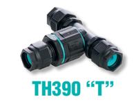 Тройник линейный 3-х контактный 3 ввода диаметр кабеля до 13.5 мм IP 68 TEETUBE