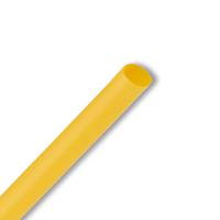 ТУТ 1.5/0.5 желтая L=1м Трубка термоусаживаемая тонкостенная 1.5/0.5 мм до 1кВ GTI-3000 1.5/0.5