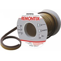 Уплотнитель самоклеящийся Remontix D40 черный 14х12мм