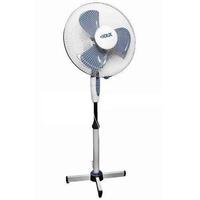 Вентилятор напольный 40Вт D40см 3 скорости (2шт. в упаковке) бело-серый DUX DX-17