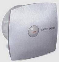 Вентилятор осевой 320 куб.м/час 25 Вт 230В настенный (диам.шахты 150 мм) автоматические жалюзи, нержавеющая сталь, серия X-Mart