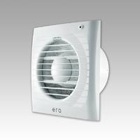 Вентилятор осевой 80 куб.м/час 20Вт 220 В настенно- потолочный (диам.шахты 100мм) с москитной сеткой серия ERA