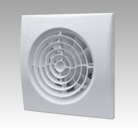 Вентилятор осевой 90 куб.м/час 8,4Вт 220В (для монтажа в шахты и воздуховоды D100мм. и 125мм) с обратным клапаном.