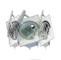 Влагостойкая крышка 2P+E, RJ45 cat. 5e, с клавишей, сталь