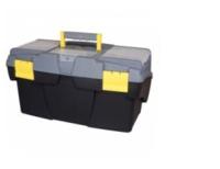 Ящик для инструментов 19 Mega Cantilever пластмассовый с 2-мя консольными лотками и 2-мя органайзерами ( Stanley )