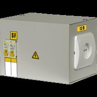 Ящик с понижающим тр-ом ЯТП-0,25 220/24 В 0,25кВА, 2х1ф. автомата, розетка