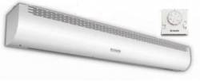 Завеса тепловая тэновая ZVV-1.5E9S, 9кВт, стич- элемент, 380в, установка до2,2 м, пульт ДУ