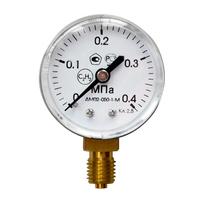 Манометр ацетиленовый 4,0 МПа 40 кгс/см.кв.