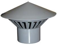 Зонт вентиляционный для канализации Ду 110 Политек (уп.60 шт.)